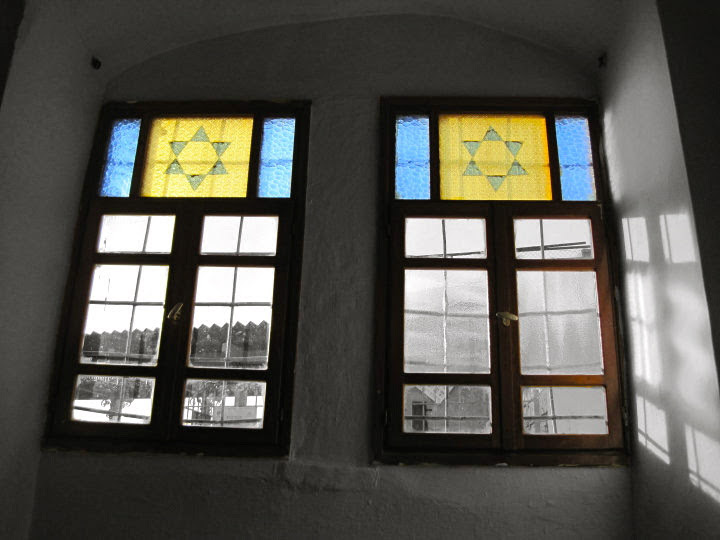 Jewish Star Window